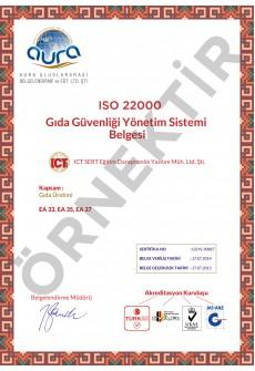 ISO 27001 Kalite Belgesi