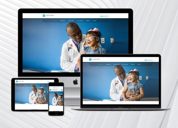 Doktor / Klinik Web Paketi Well v2.5