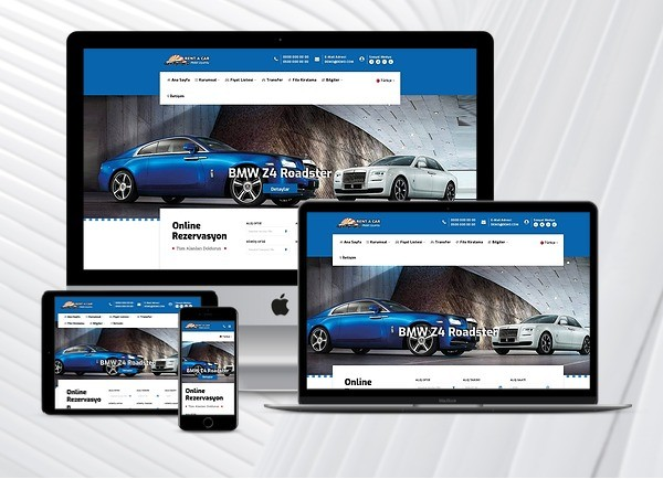 Rent A Car Web Paketi Road v3.5