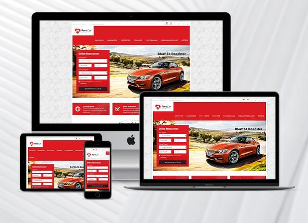Rent A Car Web Paketi Red v3.0