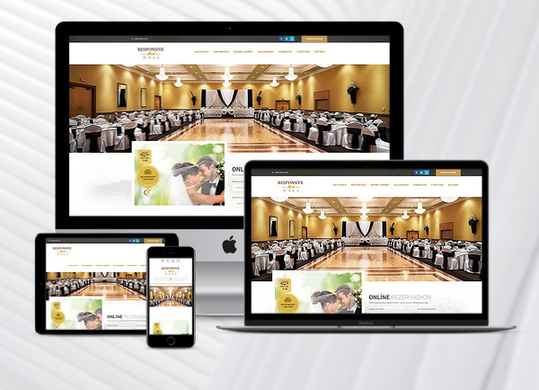 Düğün Salonu Web Paketi Hall v2.5