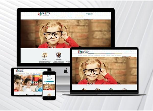 Kreş / Ana Okulu Web Paketi Child v3.0