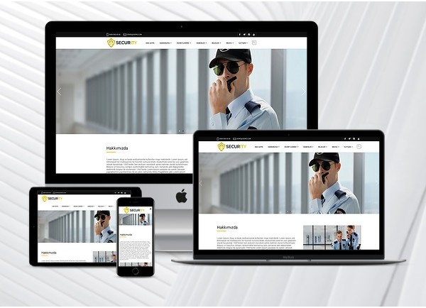 Güvenlik Firması Web Paketi Guard v3.0
