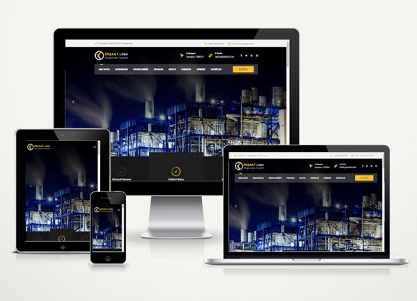 İnşaat  Web Paketi Royal v3.0