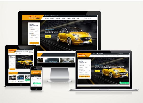 Rent A Car Web Paketi Star v4.5