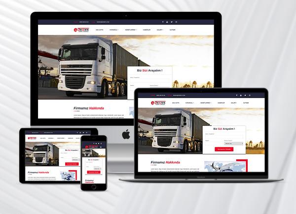 Nakliyat / Lojistik Web Paketi Trans v2.5