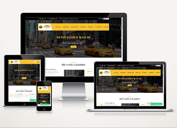 Taksi Durağı Web Paketi City v4.5