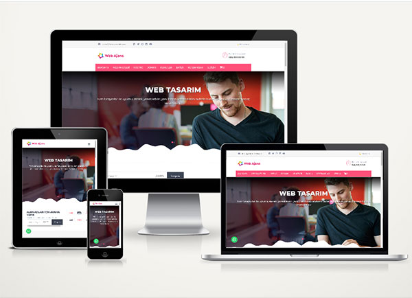 Ajans Hazır Web Sitesi Satış Paketi Port v3.0