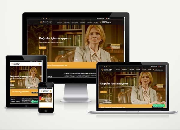 Avukat / Hukuk Web Paketi Justica v4.5